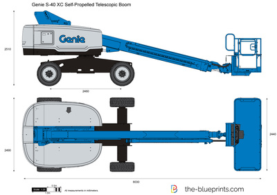 Genie S-40 XC Self-Propelled Telescopic Boom