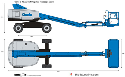 Genie S-45 XC Self-Propelled Telescopic Boom