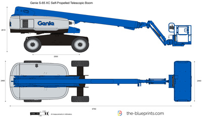 Genie S-65 XC Self-Propelled Telescopic Boom