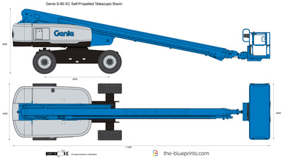 Genie S-80 XC Self-Propelled Telescopic Boom