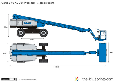 Genie S-85 XC Self-Propelled Telescopic Boom