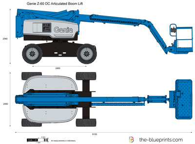 Genie Z-60 DC Articulated Boom Lift