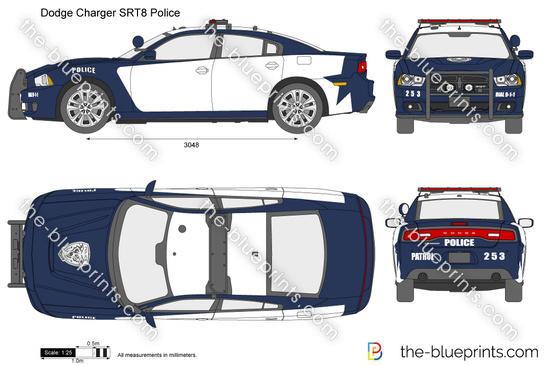 Dodge Charger SRT8 Police