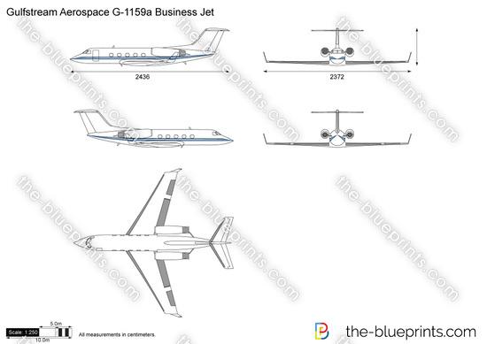 Gulfstream Aerospace G-1159a Business Jet