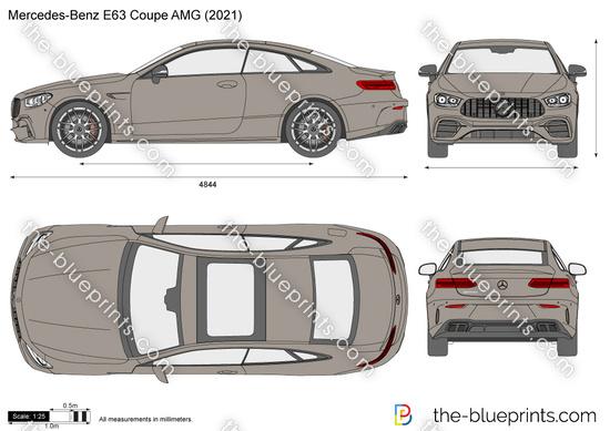 Mercedes-Benz E63 Coupe AMG