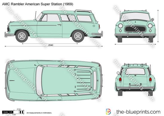 AMC Rambler American Super Station Wagon
