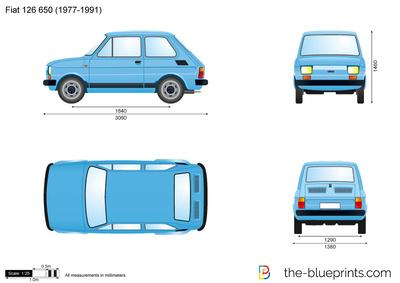 Fiat 126 650 (1977)