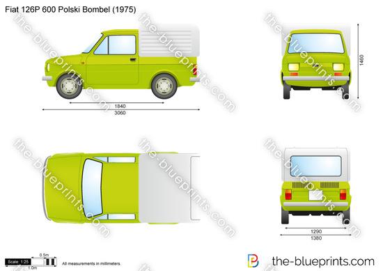 Fiat 126P 600 Polski Bombel