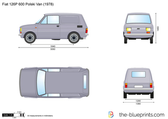 Fiat 126P 600 Polski Van