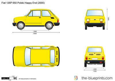 Fiat 126P 650 Polski Happy End (2000)