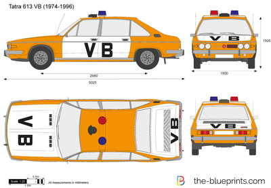 Tatra 613 VB