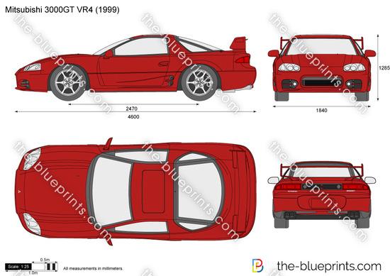 Mitsubishi 3000GT VR4