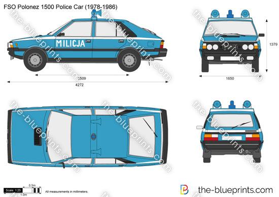 FSO Polonez 1500 Police Car (1978-1986)