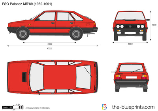 FSO Polonez MR'89 (1989-1991)