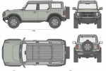 Ford Bronco First Edition 4-Door (2021)