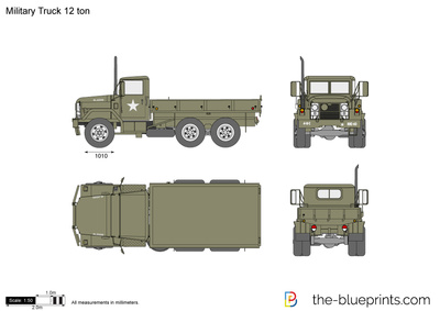 Military Truck 12 ton