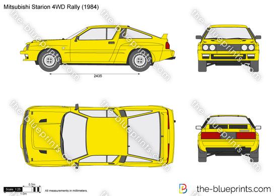Mitsubishi Starion 4WD Rally