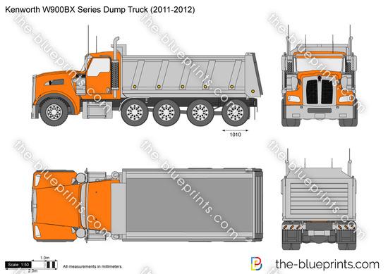 Kenworth W900BX Series Dump Truck (2011-2012)