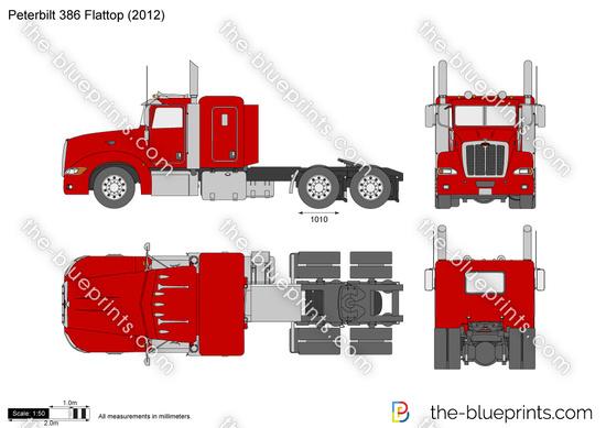 Peterbilt 386 Flattop