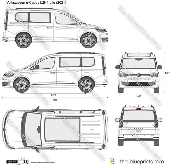 Volkswagen e-Caddy L2H1 Life