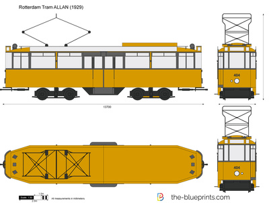 Rotterdam Tram ALLAN