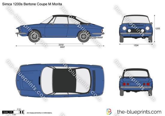 Simca 1200s Bertone Coupe M Morita