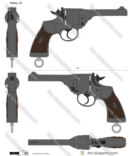 Webley .38 Revolver