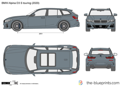 BMW Alpina D3 S touring