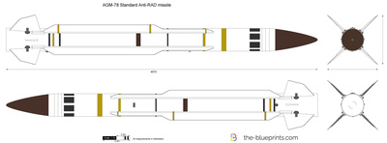 AGM-78 Standard Anti-RAD missile