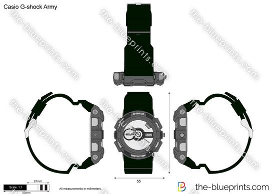 Casio G-shock Army