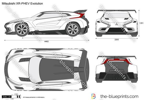 Mitsubishi XR-PHEV Evolution
