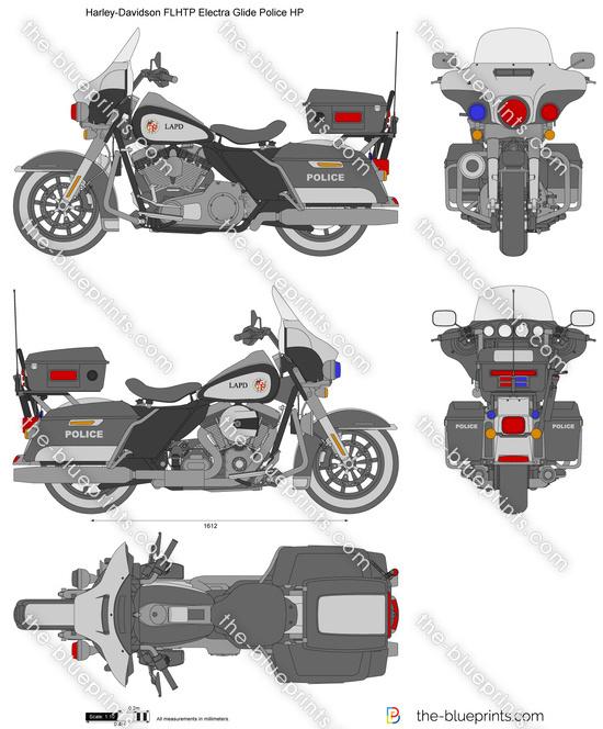 Harley-Davidson FLHTP Electra Glide Police HP
