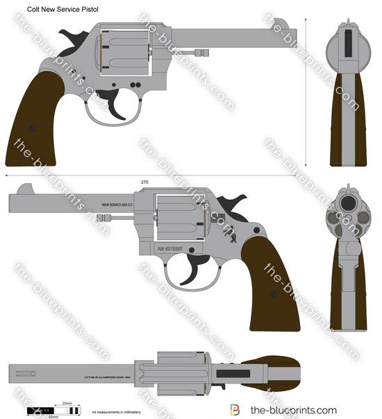 Colt New Service Pistol