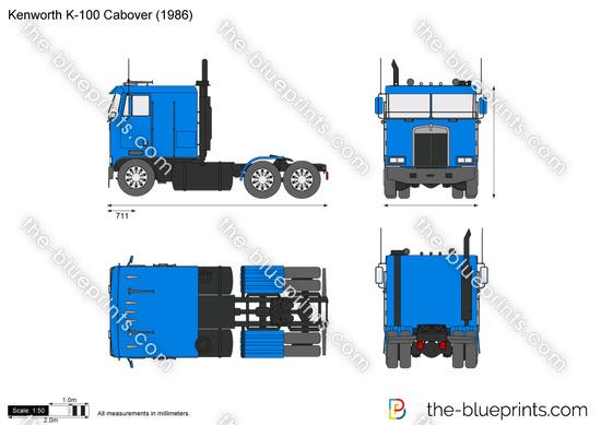 Kenworth K-100 Cabover