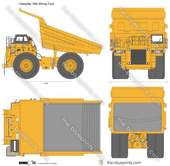 Caterpillar 786c Mining Truck