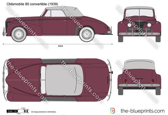 Oldsmobile 80 convertible