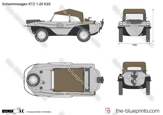 Schwimmwagen KTZ 1-20 K2S