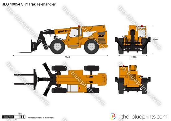 JLG 10054 SKYTrak Telehandler