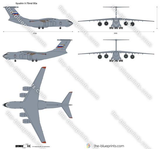 Ilyushin Il-76md 90a