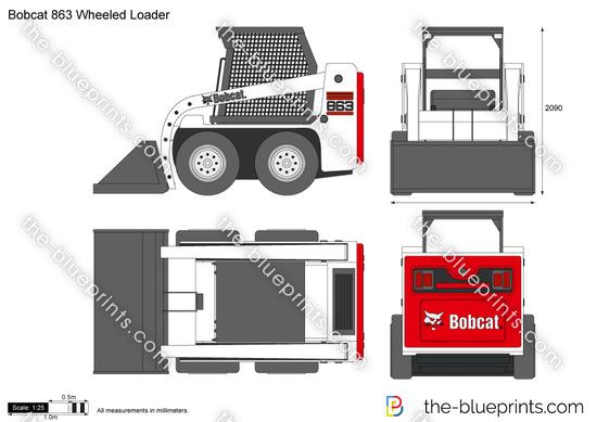 Bobcat 863 Wheeled Loader