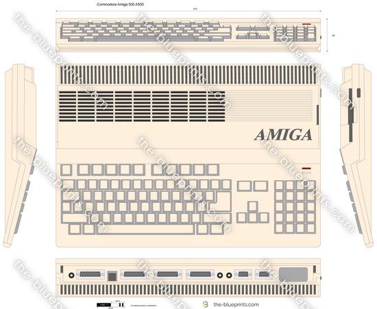 Commodore Amiga 500 A500