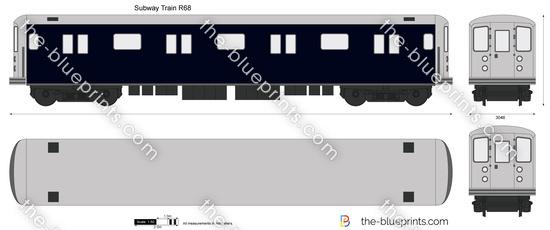 Subway Train R68