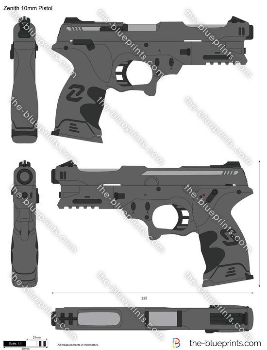 Zenith 10mm Pistol