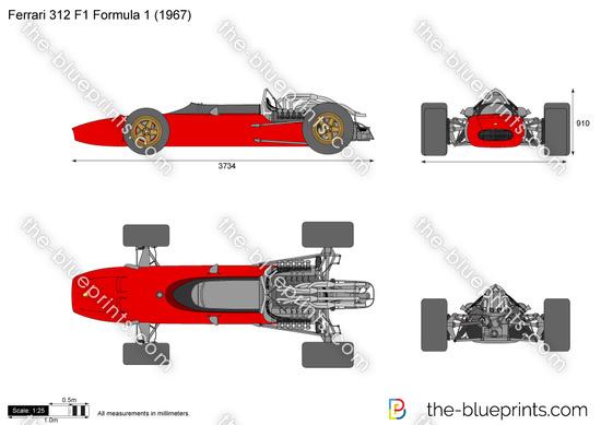Ferrari 312 F1 Formula 1