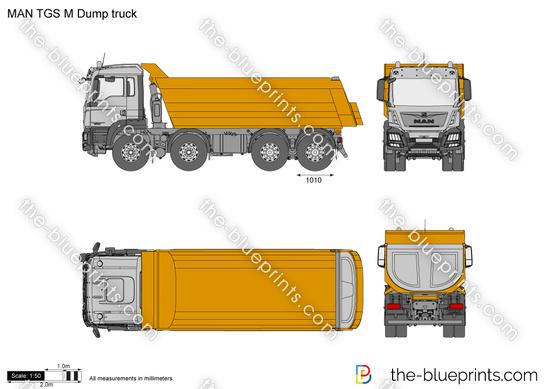 MAN TGS M Dump truck