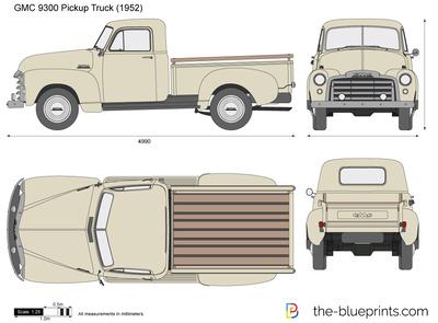 GMC 9300 Pickup Truck (1952)