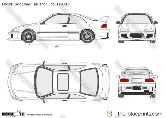 Honda Civic Crew Fast and Furious