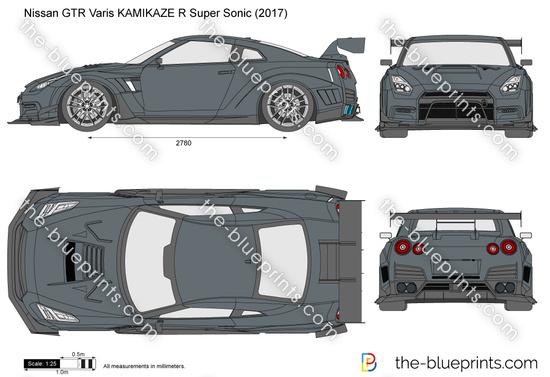 Nissan GTR Varis KAMIKAZE R Super Sonic