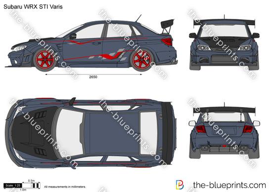 Subaru WRX STI Varis