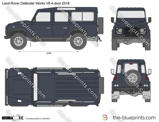 Land Rover Defender Works V8 4-door